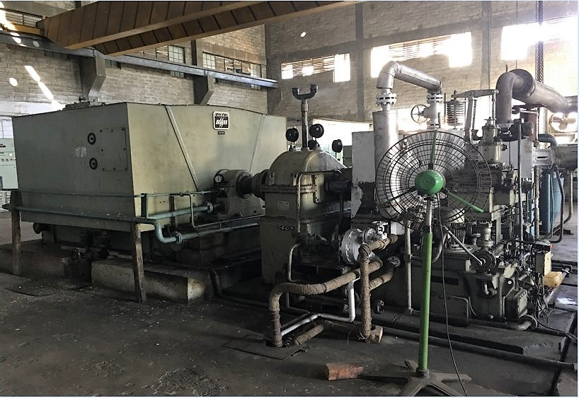3mw Turbo Alternator Co generation Power Plant