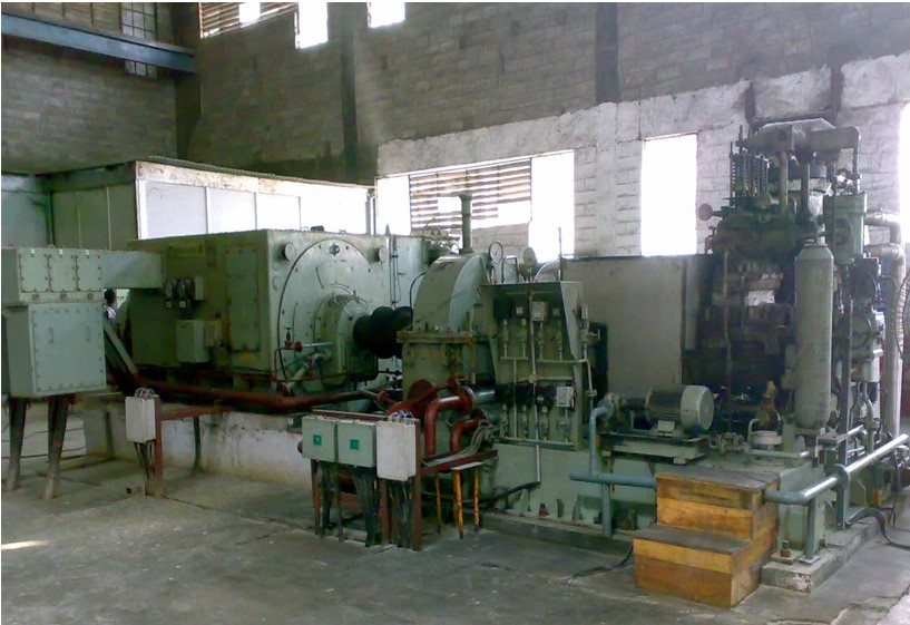 6mw 11kv Co Generation Turbine & Generator- TG