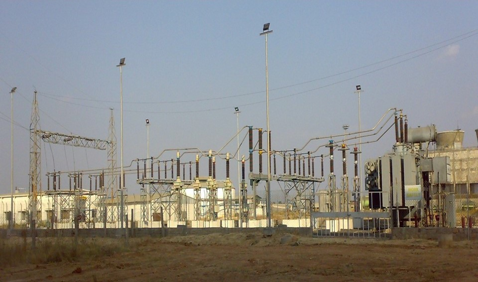 Electrical substation, 110kv, 31.5mva